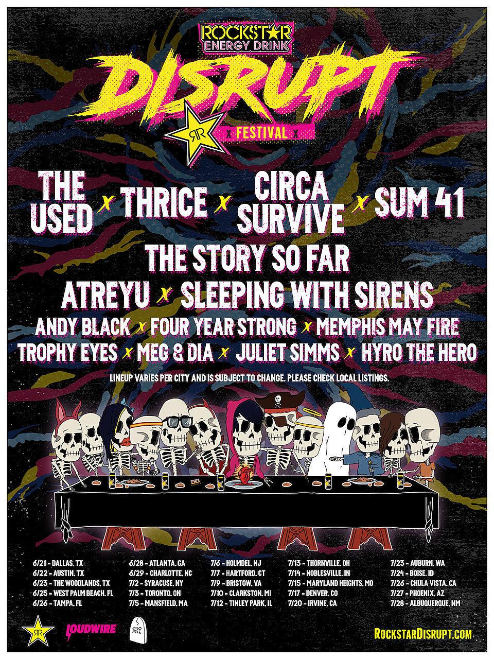 Rockstar Energy Disrupt Festival Announces Inaugural Lineup