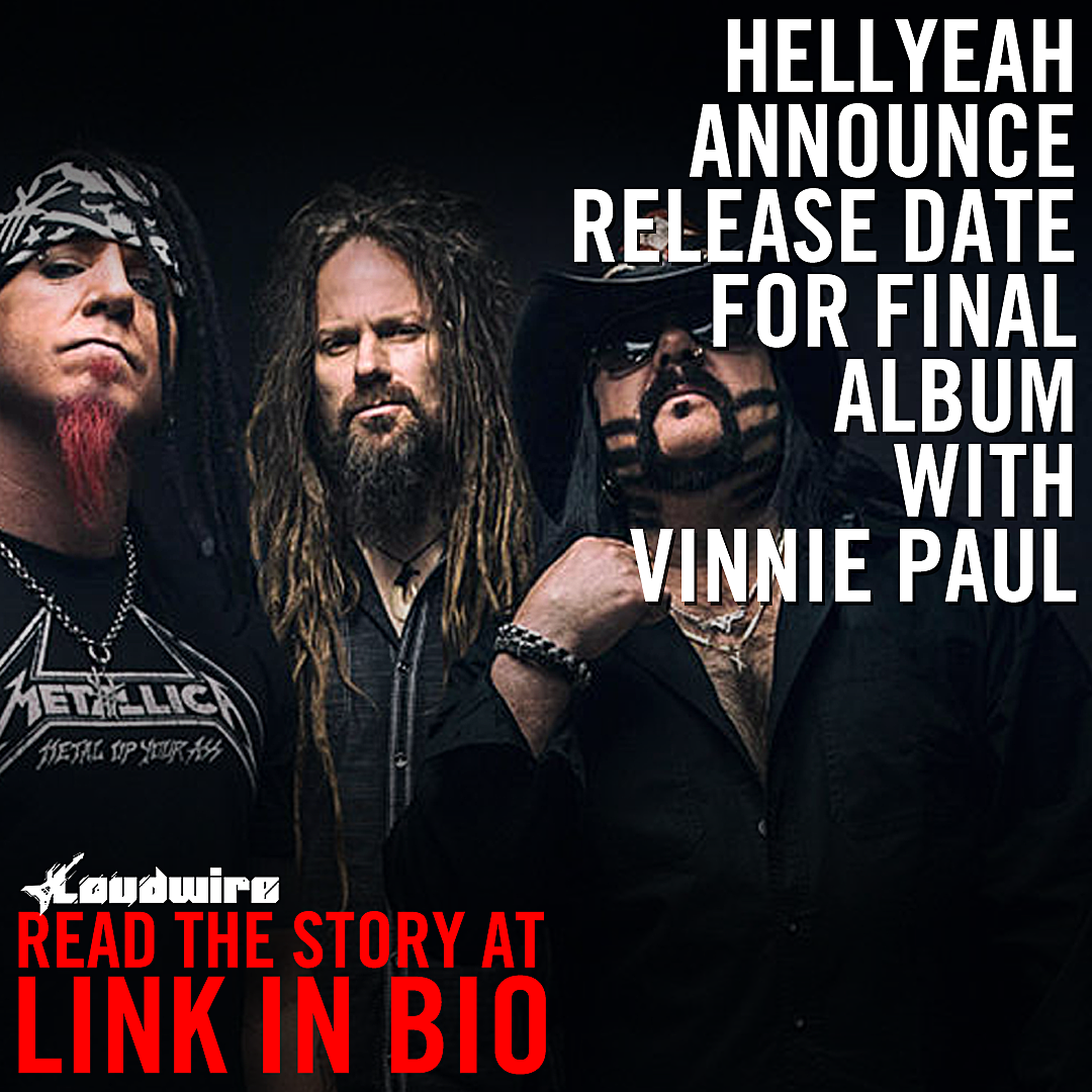 Hellyeah Announce Release Date for Last Album With Vinnie Paul