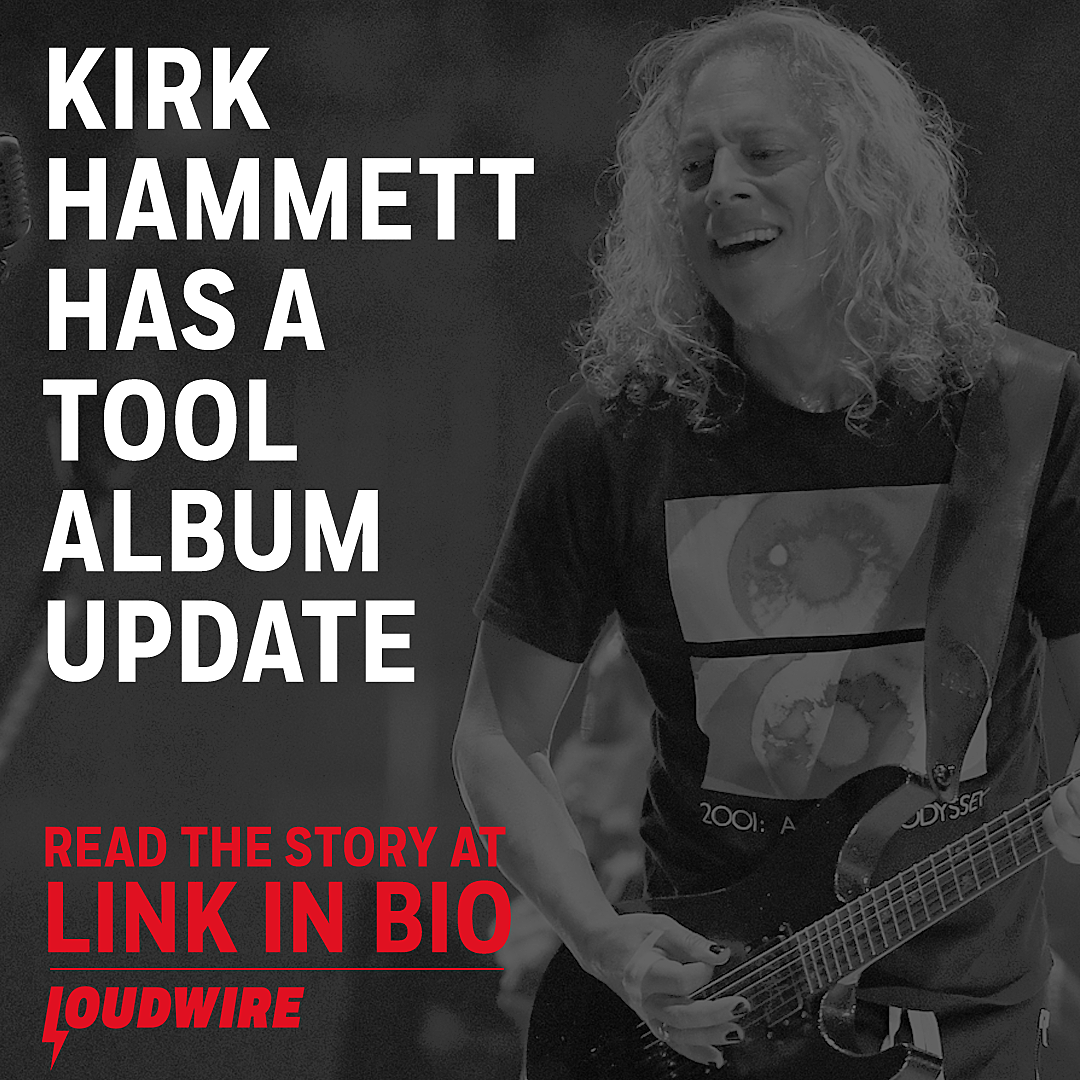 Metallica's Kirk Hammett Gives Update on New Tool Album