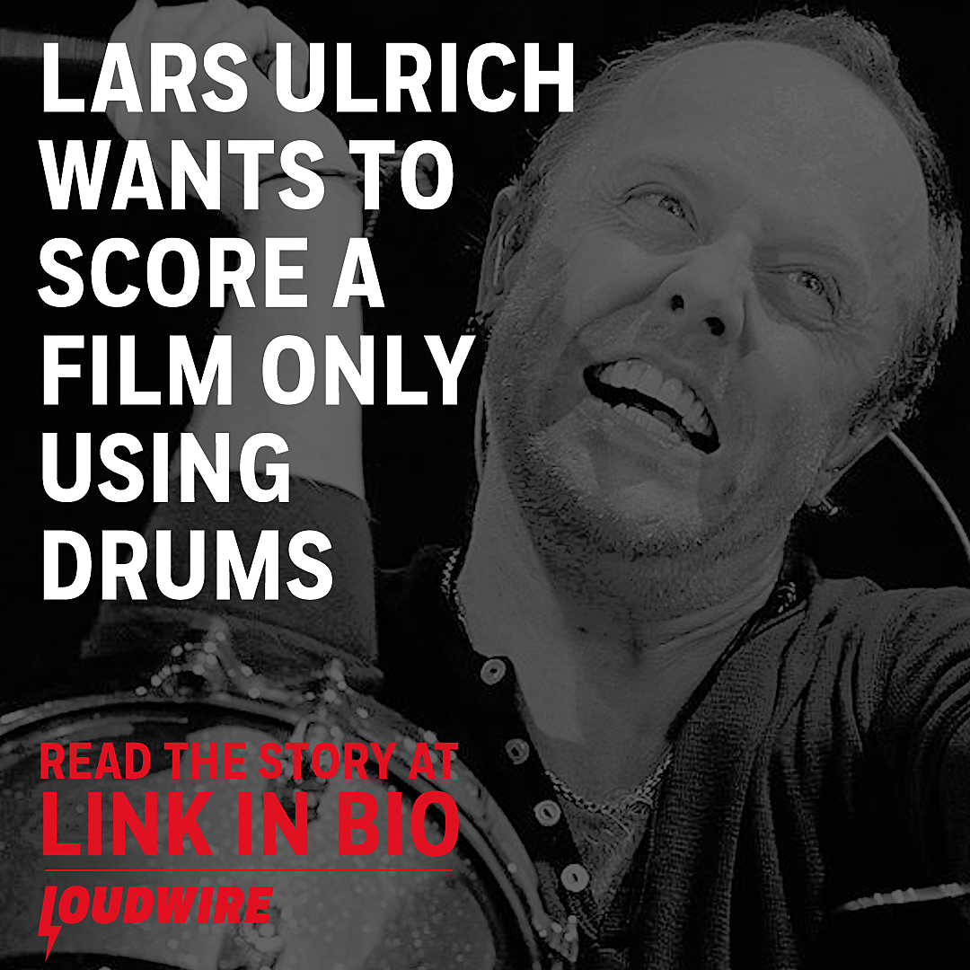 Metallica's Lars Ulrich Wants to Score a Film Entirely With