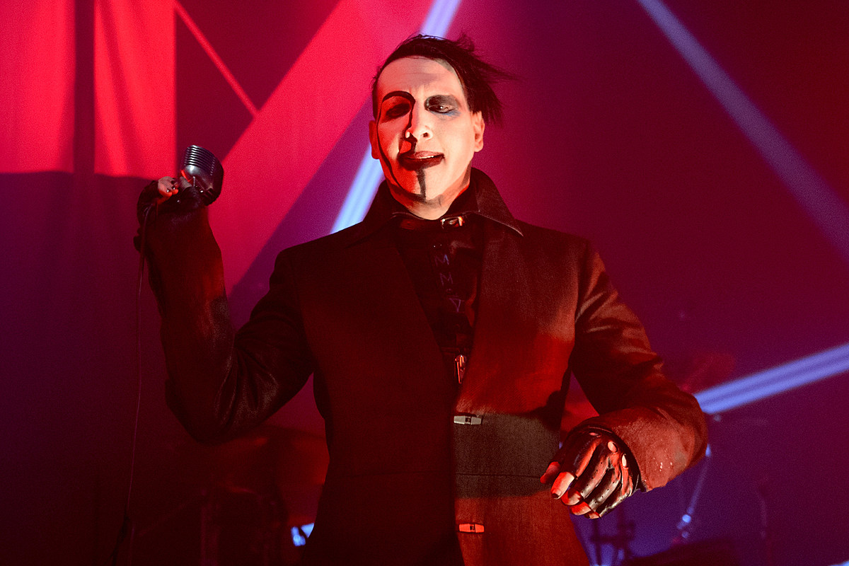 marilyn manson done recording 39 more than half 39 of new album. Black Bedroom Furniture Sets. Home Design Ideas