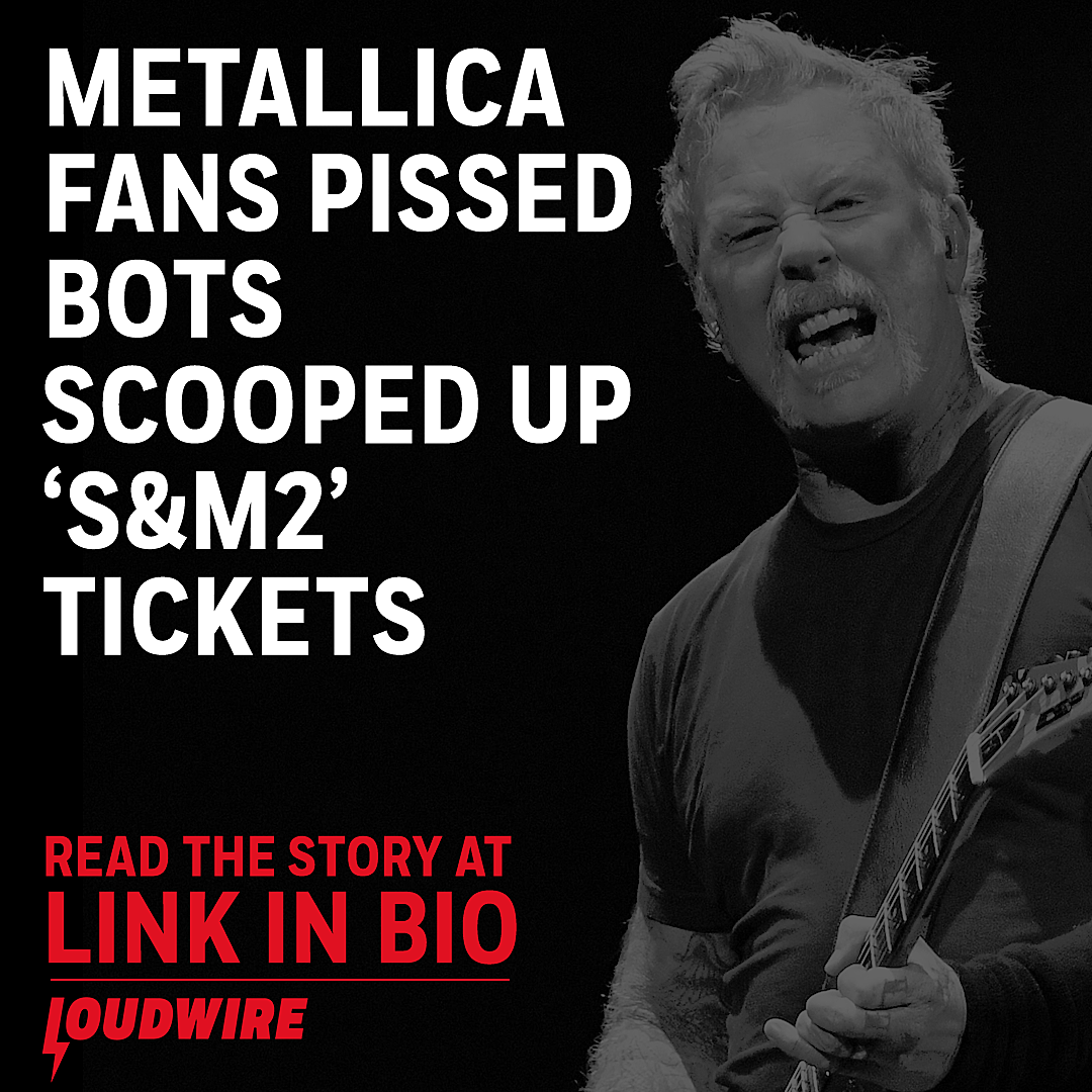 Metallica Fans Fuming After Bots Clear Out 'S&M2' Concert