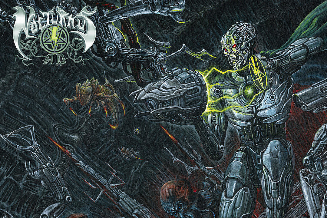 Nocturnus A.D. Debut First Song Off Comeback Album 'Paradox'
