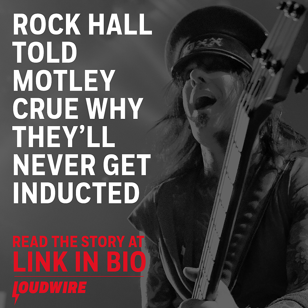 Nikki Sixx: Motley Crue Told They Would Never Get in Rock Hall