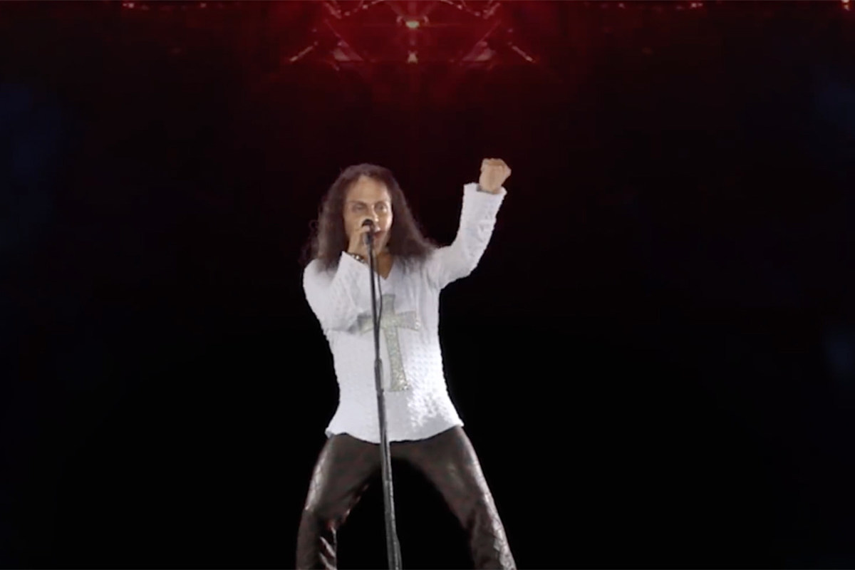See the New Ronnie James Dio Hologram