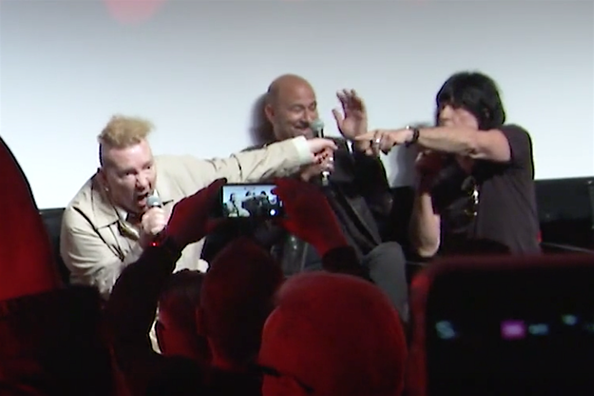 Johnny Rotten + Marky Ramone Exchange Insults During 'Punk' Panel