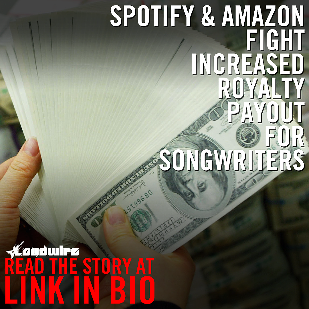 Spotify + Amazon Fight Increased Royalty Payout for Songwriters