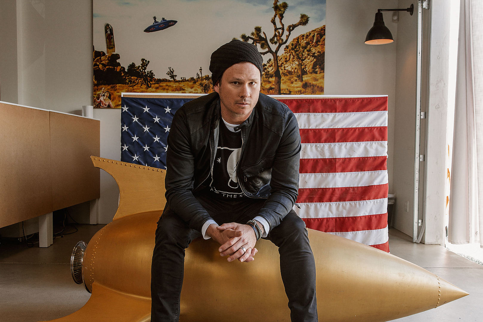 Tom DeLonge Gets History Channel Mini-Series About UFOs