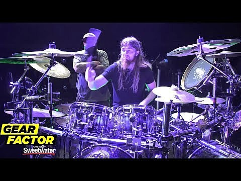In This Moment's Kent Diimmel Plays His Favorite Drum Parts
