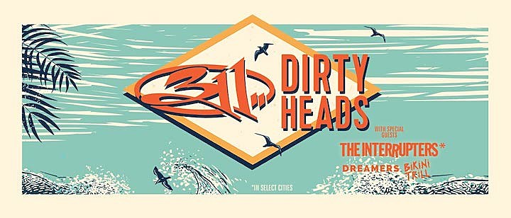 311 + Dirty Heads Announce Summer 2019 Tour