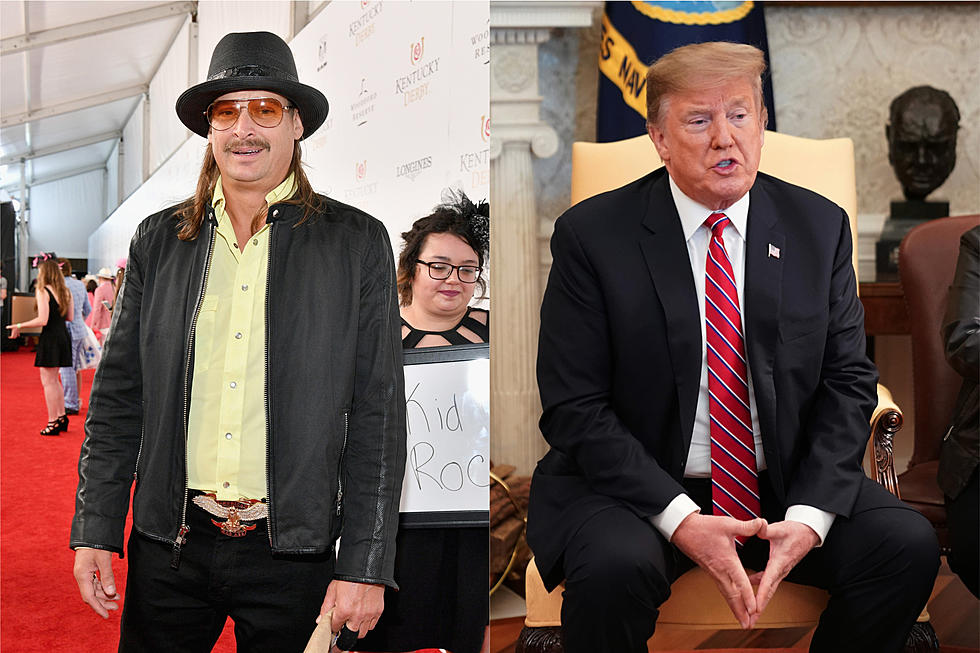 Kid Rock Golfed With President Trump