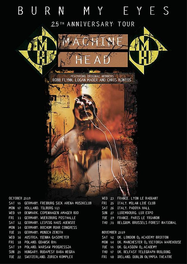 e73985e8984 Machine Head Reunite With Former Members for  Burn My Eyes  Tour