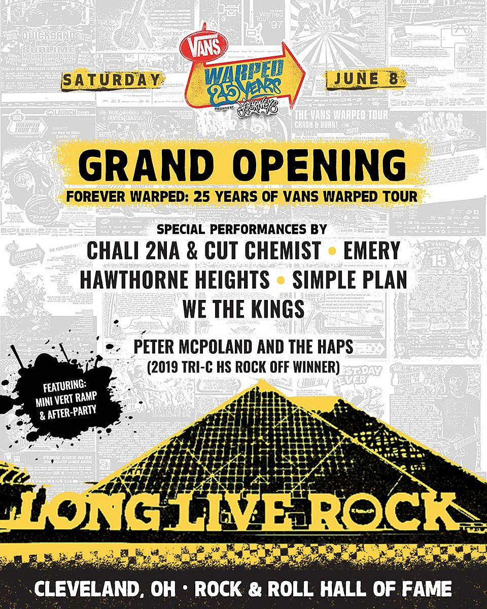 Warped Tour 2019 Lineup Revealed For Anniversary Shows