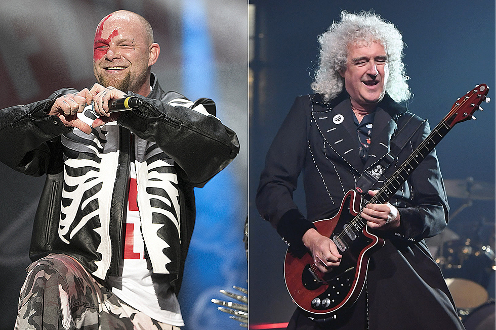 5FDP Tap Queen's Brian May, Country Star on 'Blue on Black