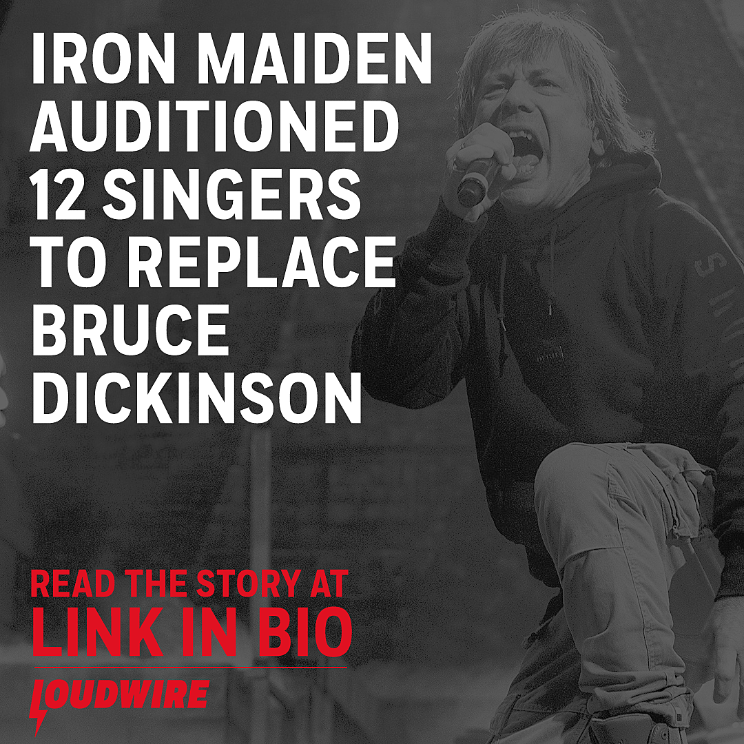 Iron Maiden Auditioned 12 Singers to Replace Bruce Dickinson