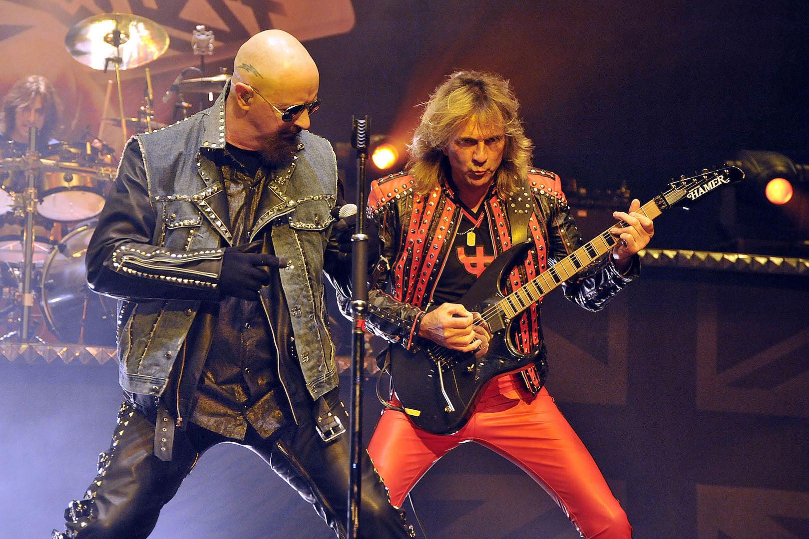 Judas Priest's Glenn Tipton Is Working on Riffs for New Album