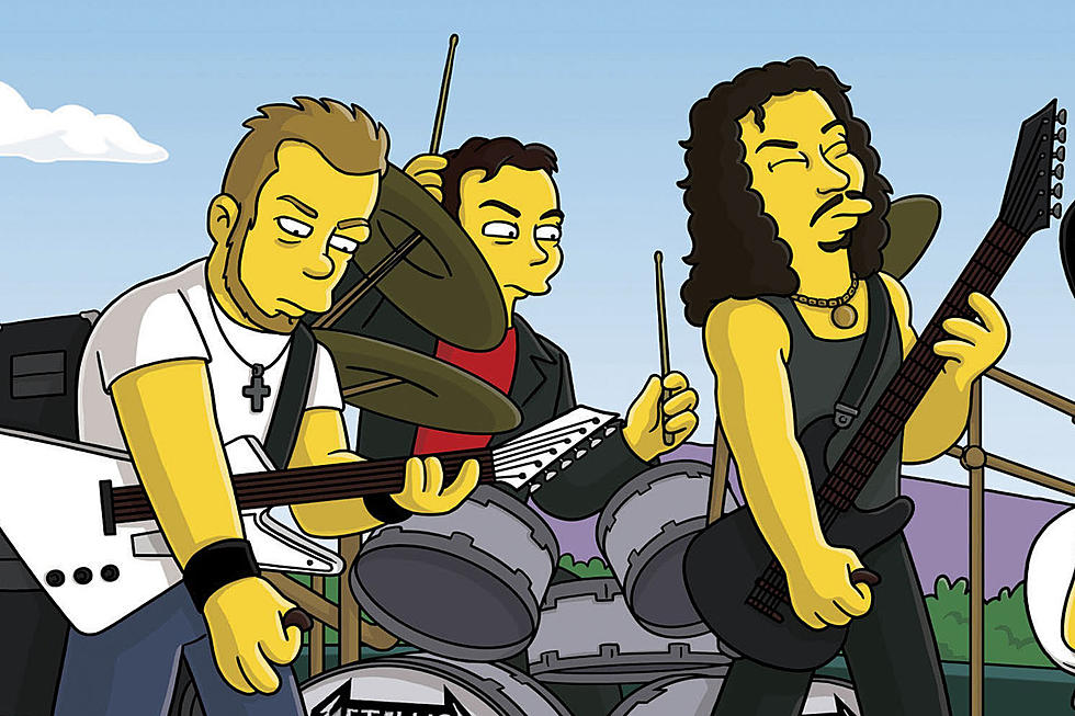 Top 10 Rock Star 'Simpsons' Cameos