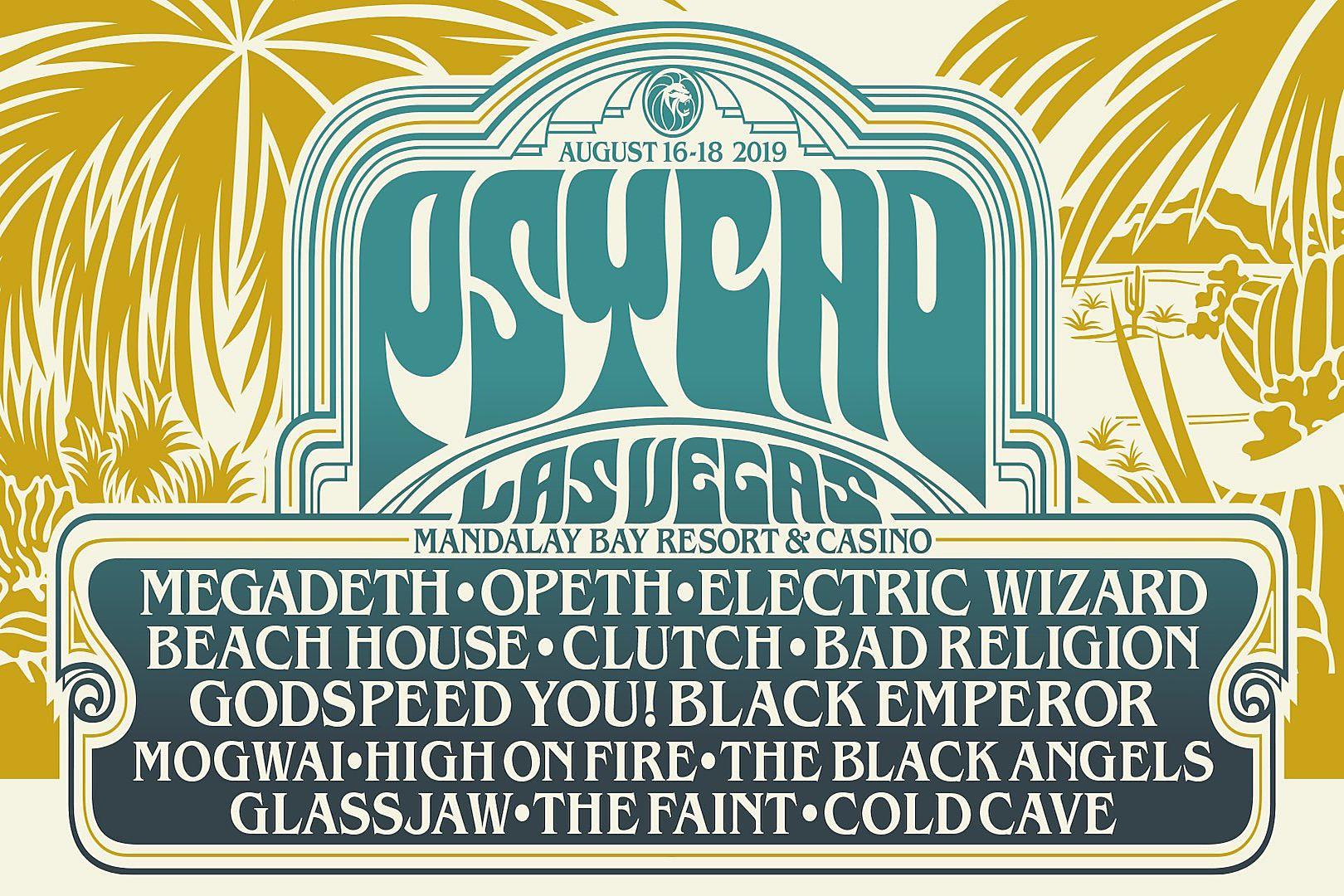 Megadeth, Opeth Added as 2019 Psycho Las Vegas Headliners