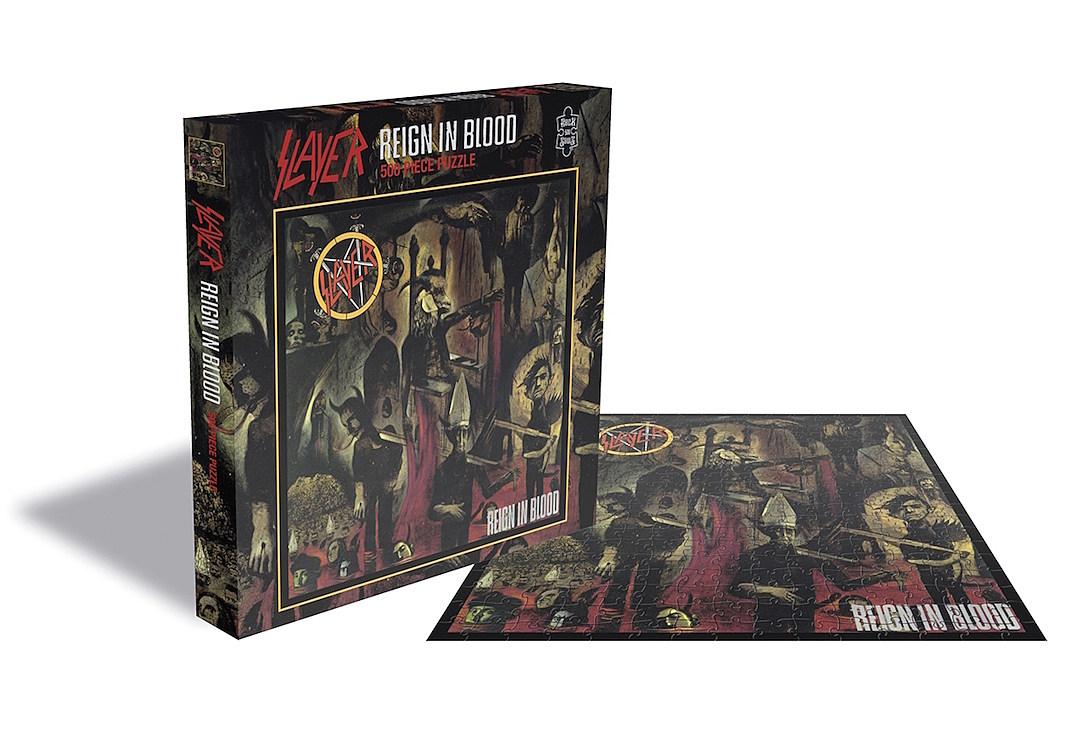 Iron Maiden, Slayer, Judas Priest + Motorhead Puzzles Are Coming