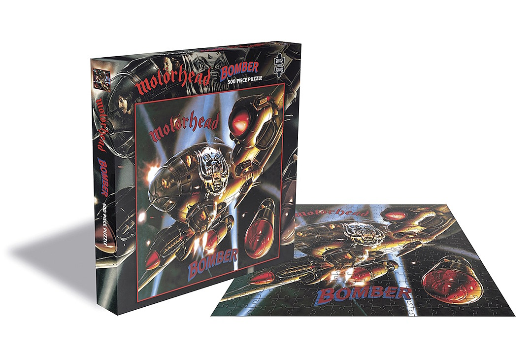 Iron Maiden, Slayer, Judas Priest + Motorhead Puzzles Are Coming