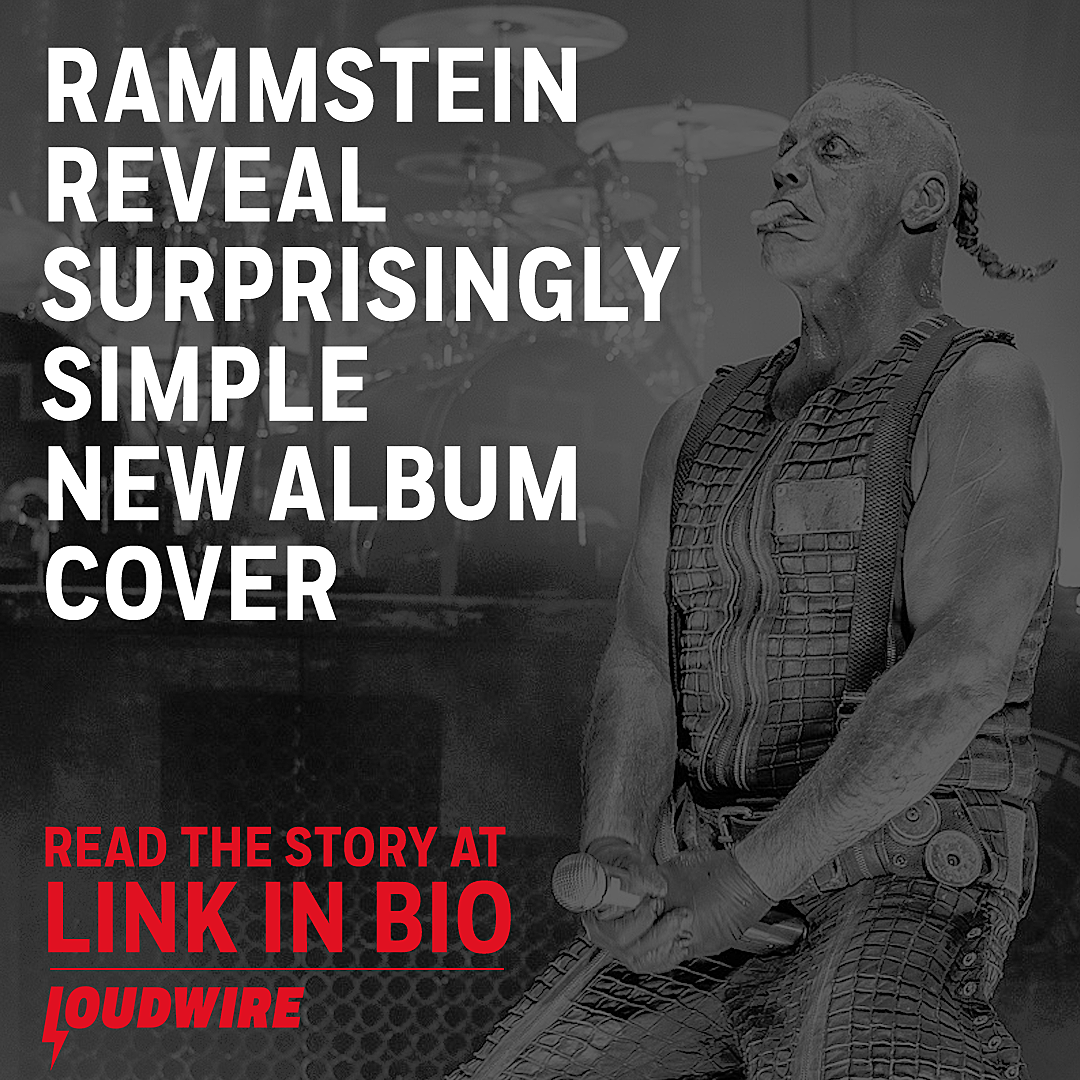 Rammstein Unveil Surprisingly Simple Artwork for New Album