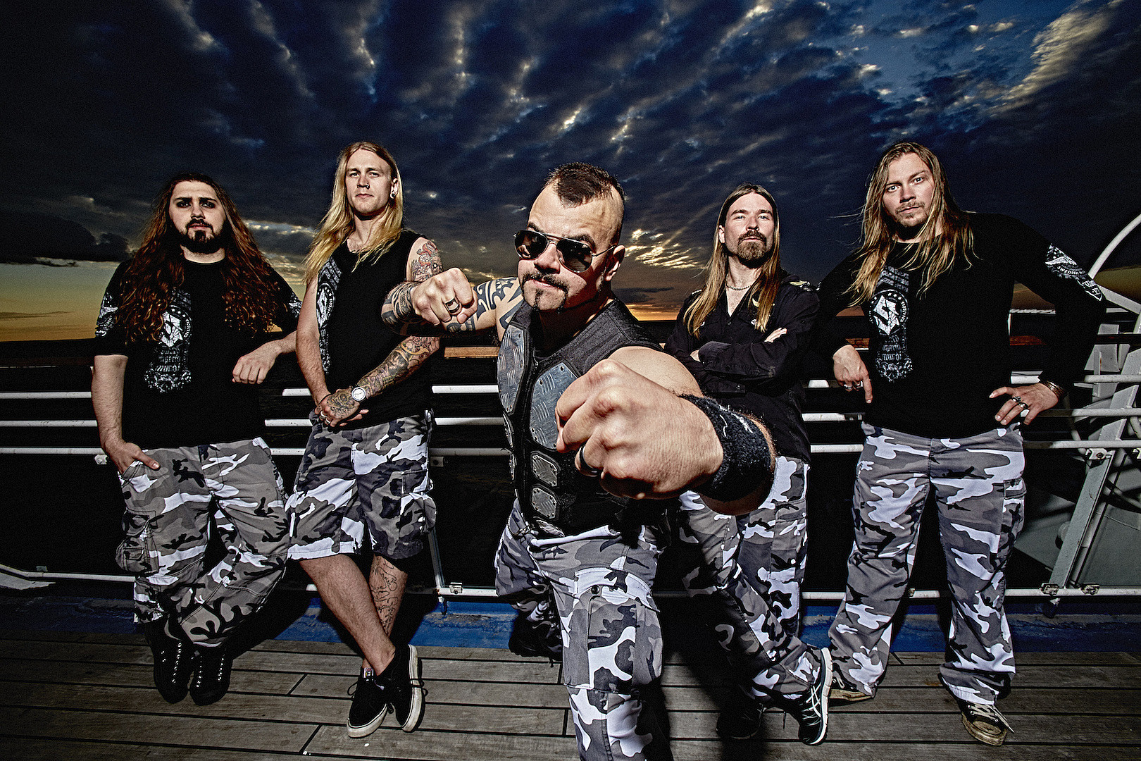Sabaton Announce 2019 North American Tour With Hammerfall