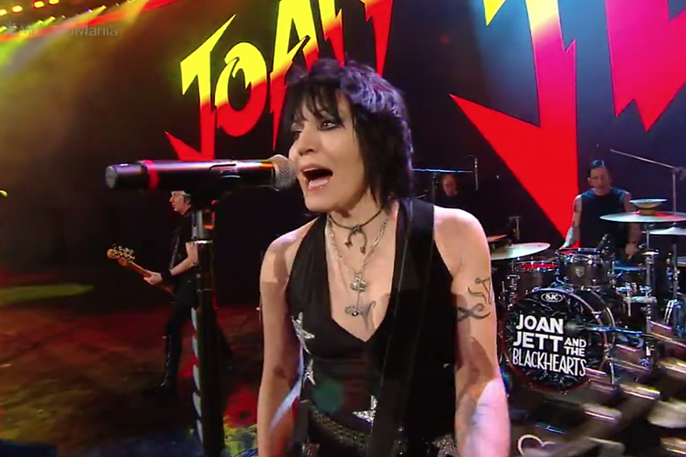 Watch Joan Jett Perform 'Bad Reputation' at Wrestlemania