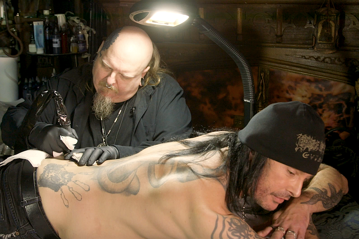 6ceea0b8a3c86 Watch Cradle of Filth's Dani Filth Get Tattooed by Paul Booth