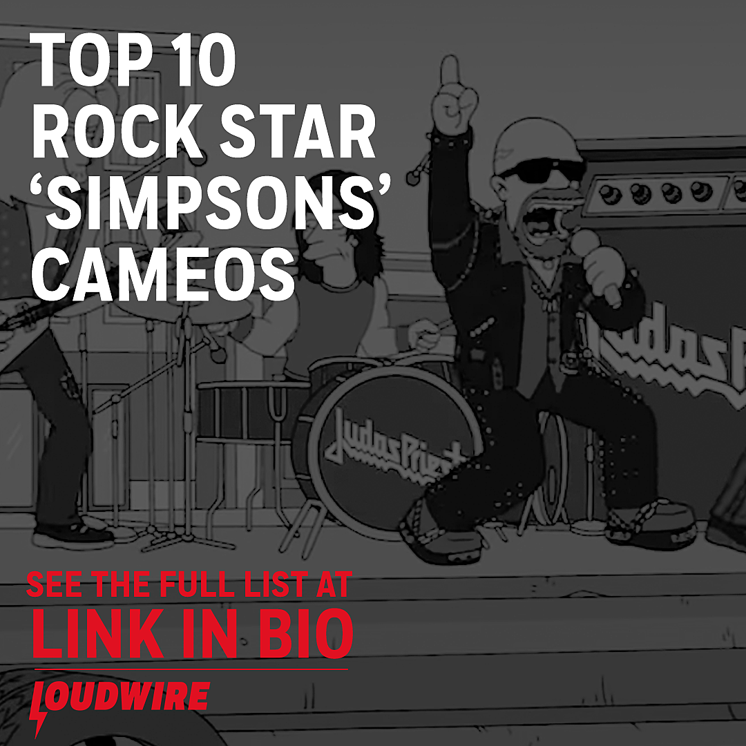 Top 10 Rock Star 'Simpsons' Cameos