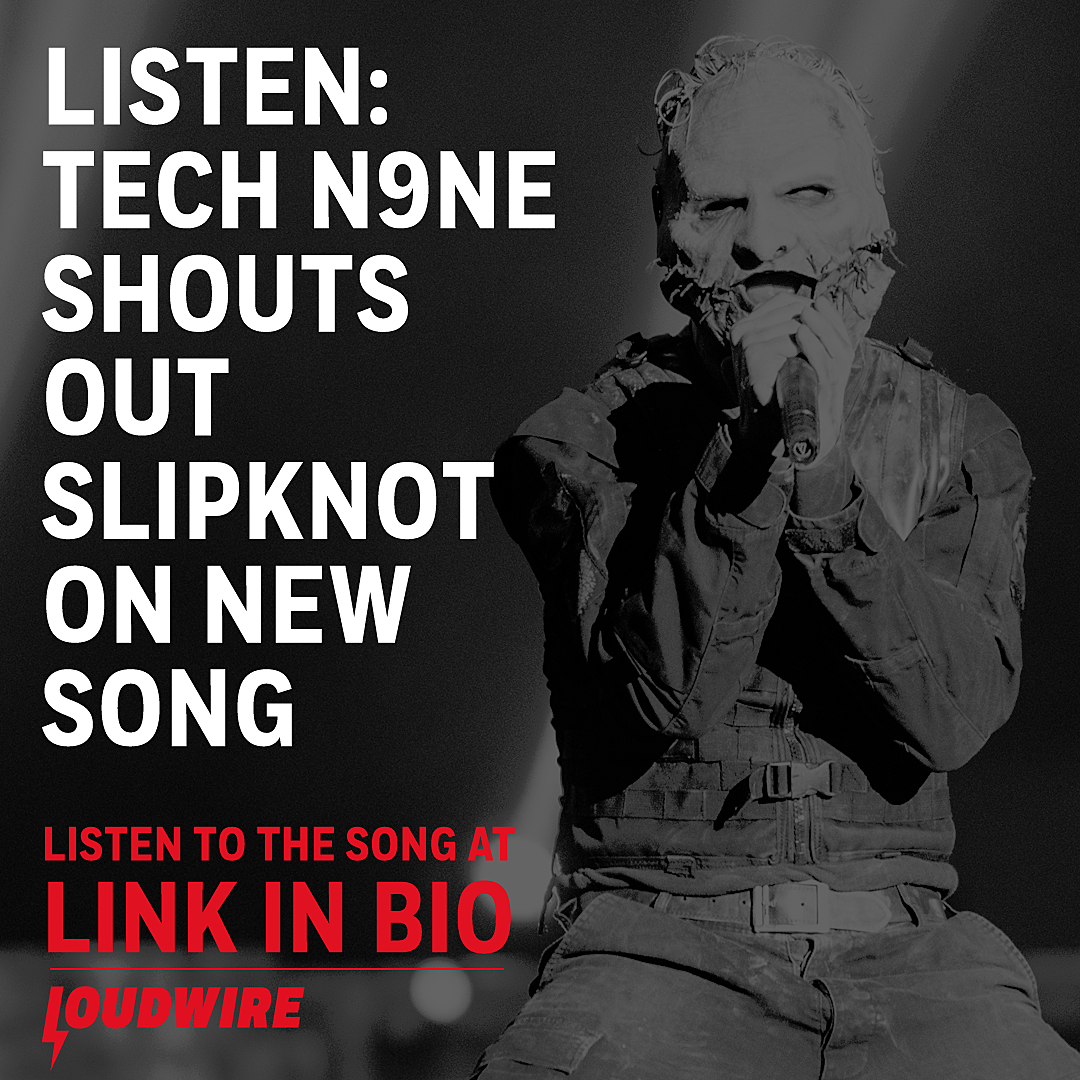 Tech N9ne Shouts Out Slipknot in New Track 'Like I Ain't'