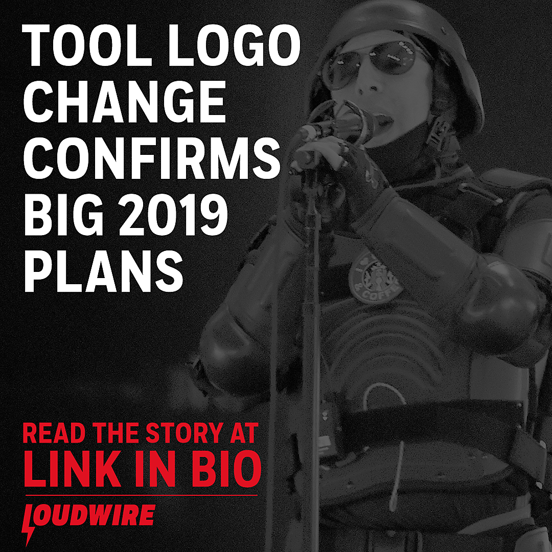 Tool Change Logo, Confirm Something Big for 2019
