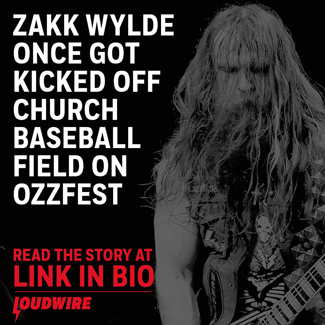 Zakk Wylde Once Got Kicked Off a Church Baseball Field on
