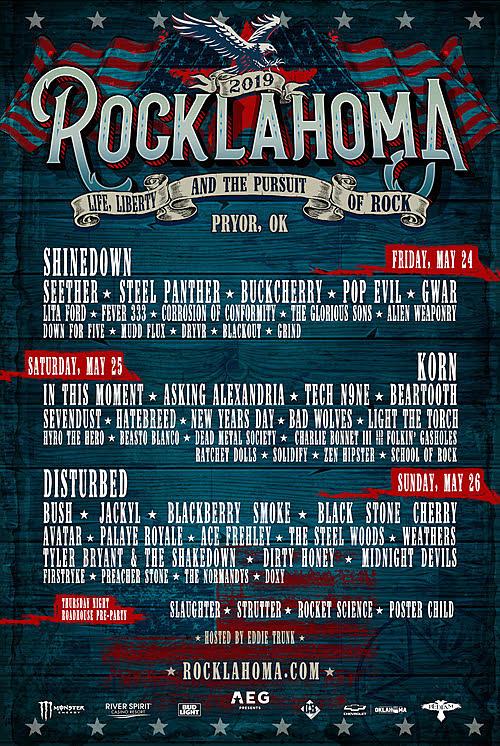 Korn Replacing Ozzy Osbourne as 2019 Rocklahoma Headliner