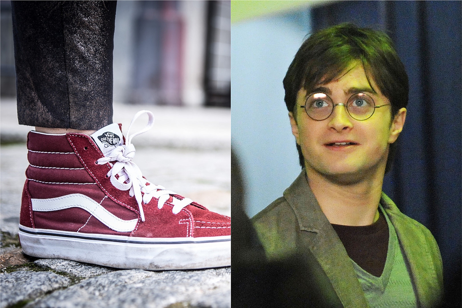 6f2ac4536a Vans Teams Up with  Harry Potter  for New Shoe Line