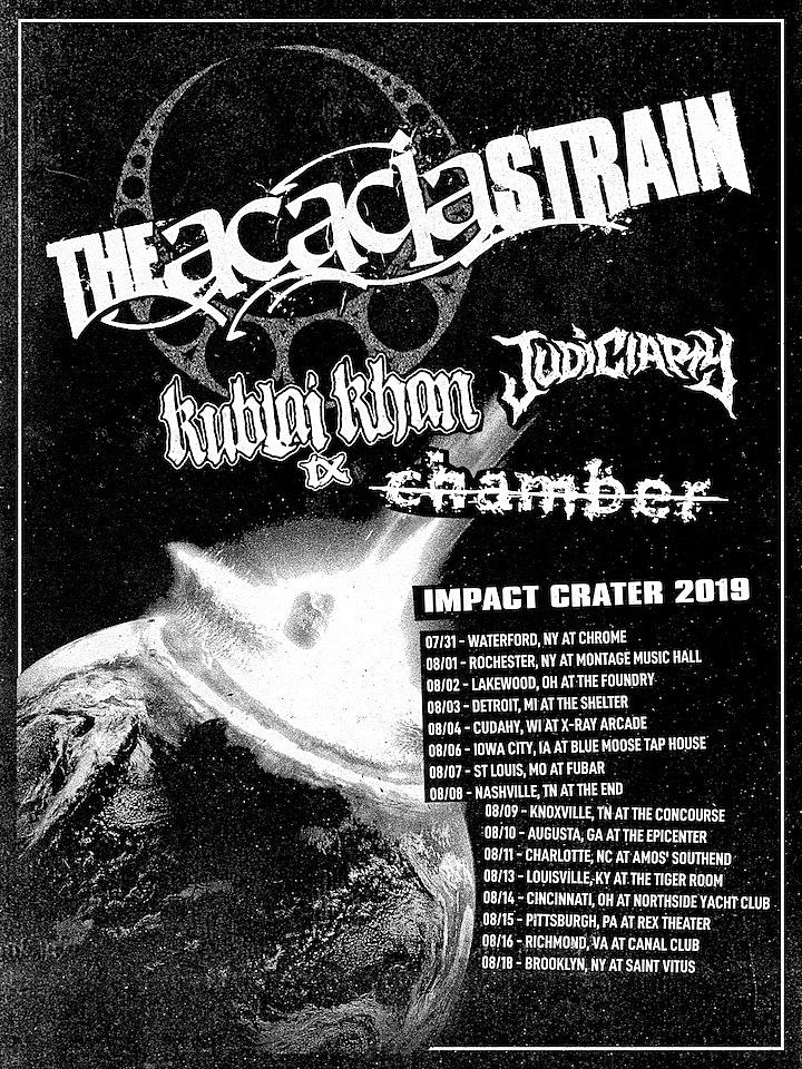The Acacia Strain Announce Summer U S  Tour
