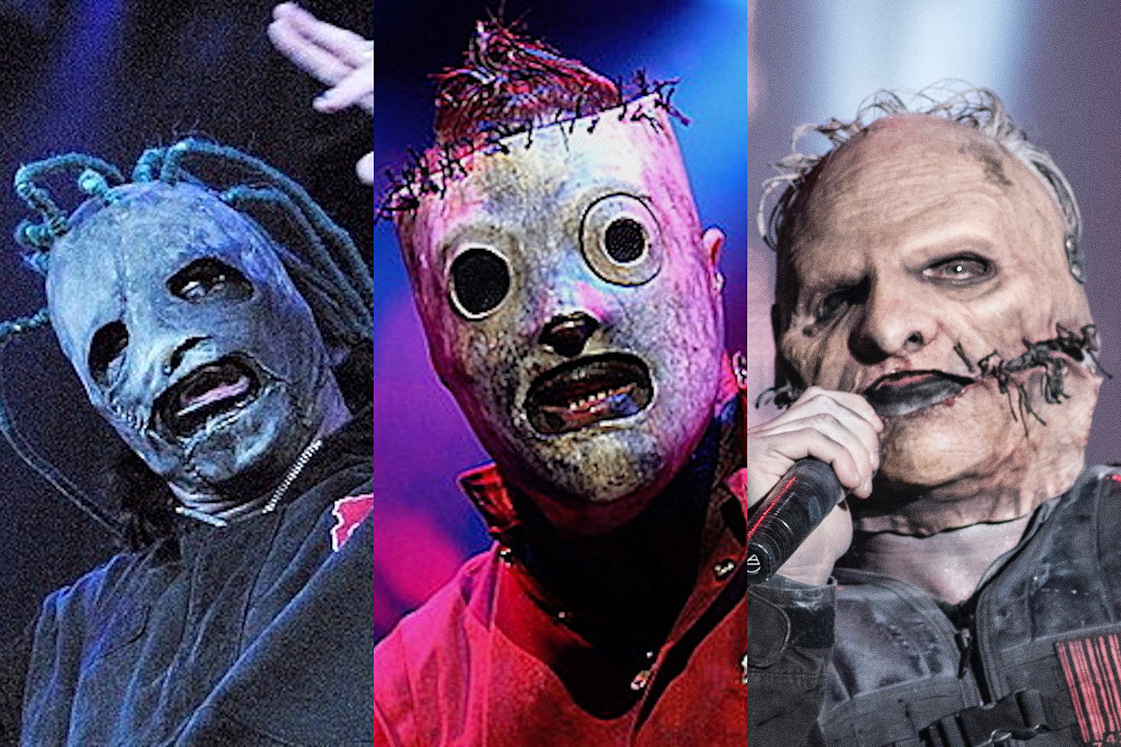 The Evolution of Slipknot's Terrifying Masks Throughout The Years