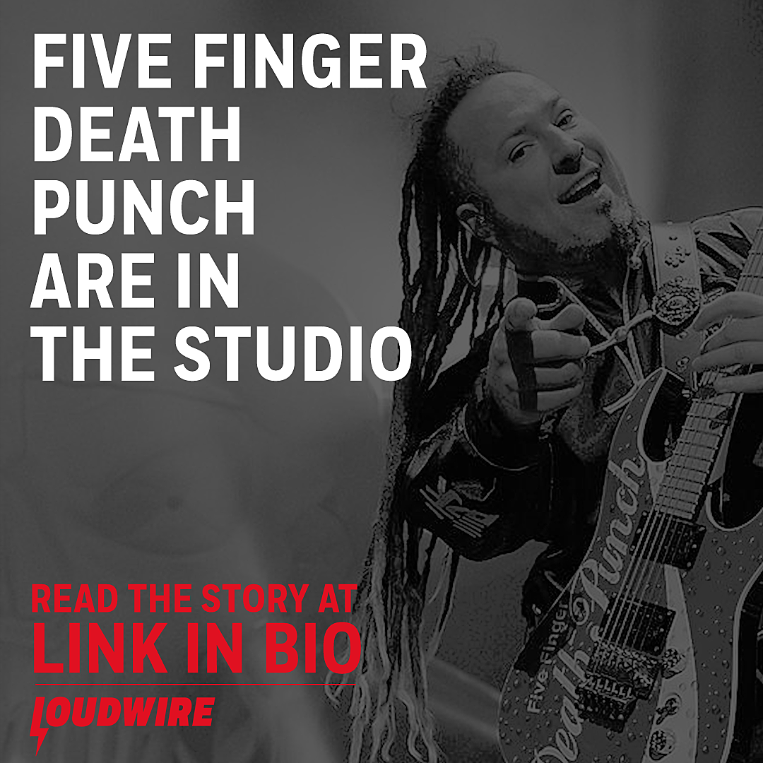 Five Finger Death Punch Are in the Studio