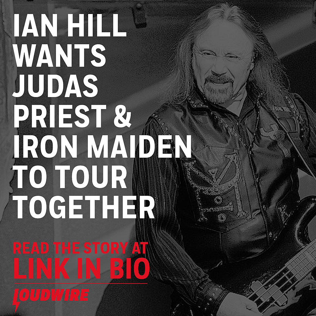 Ian Hill Wants Judas Priest + Iron Maiden to Tour Together Again