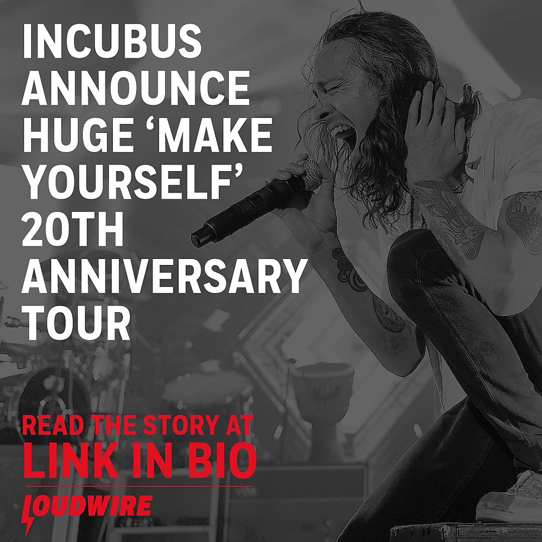 Incubus Tour 2020 Incubus Announce Huge 'Make Yourself' 20th Anniversary 2019 Tour