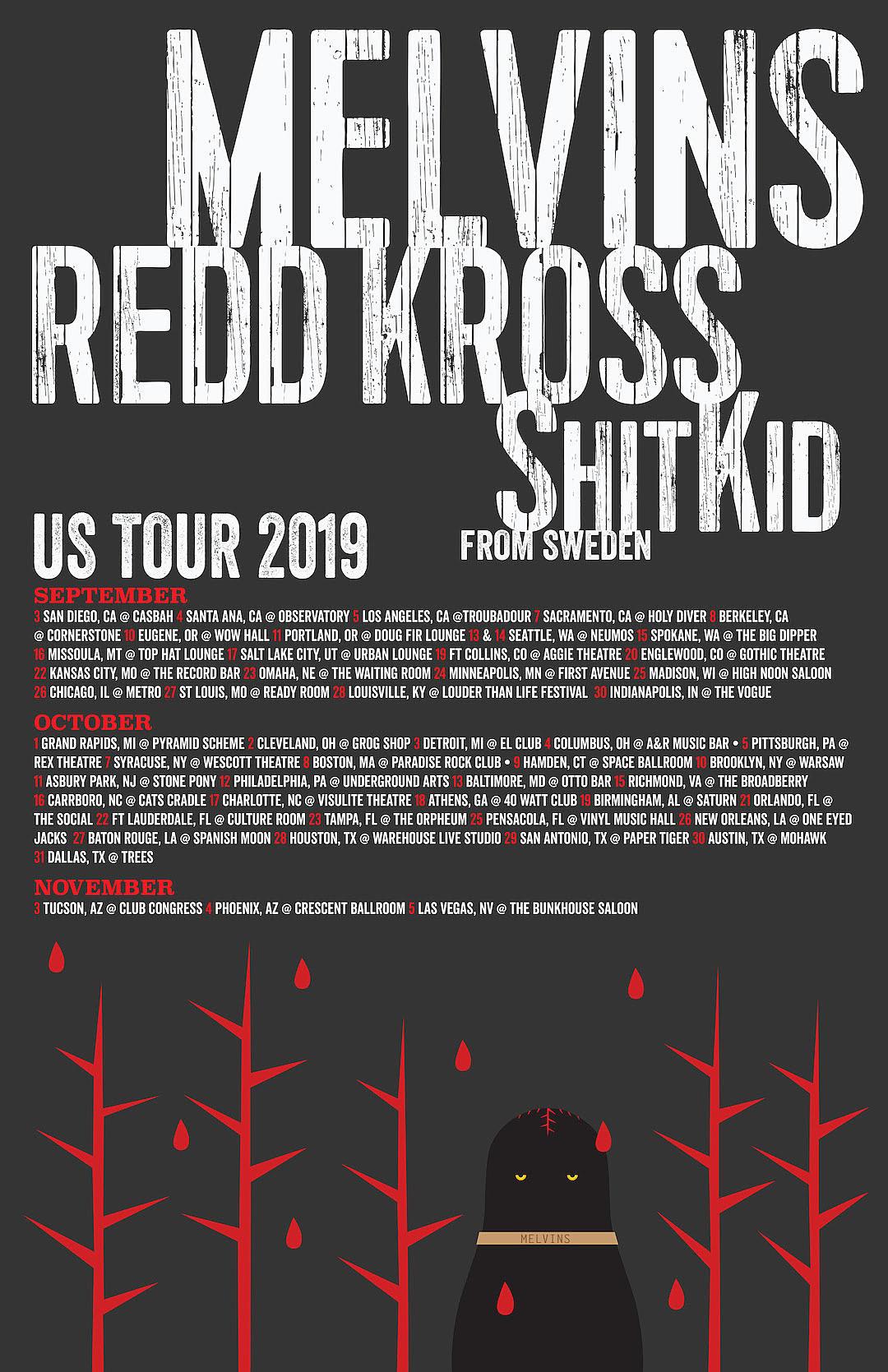 Melvins Announce Massive Summer Fall Us Tour