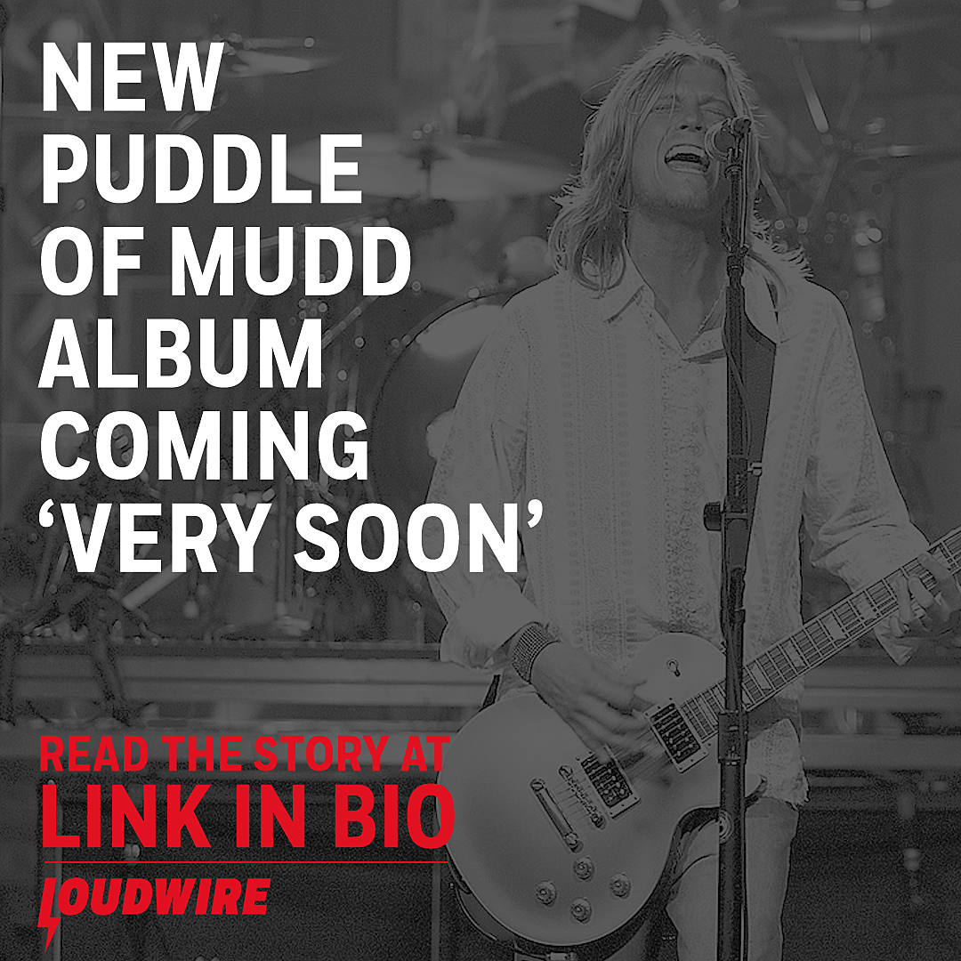 Puddle of Mudd's First New Release in Years 'Coming Very Soon'