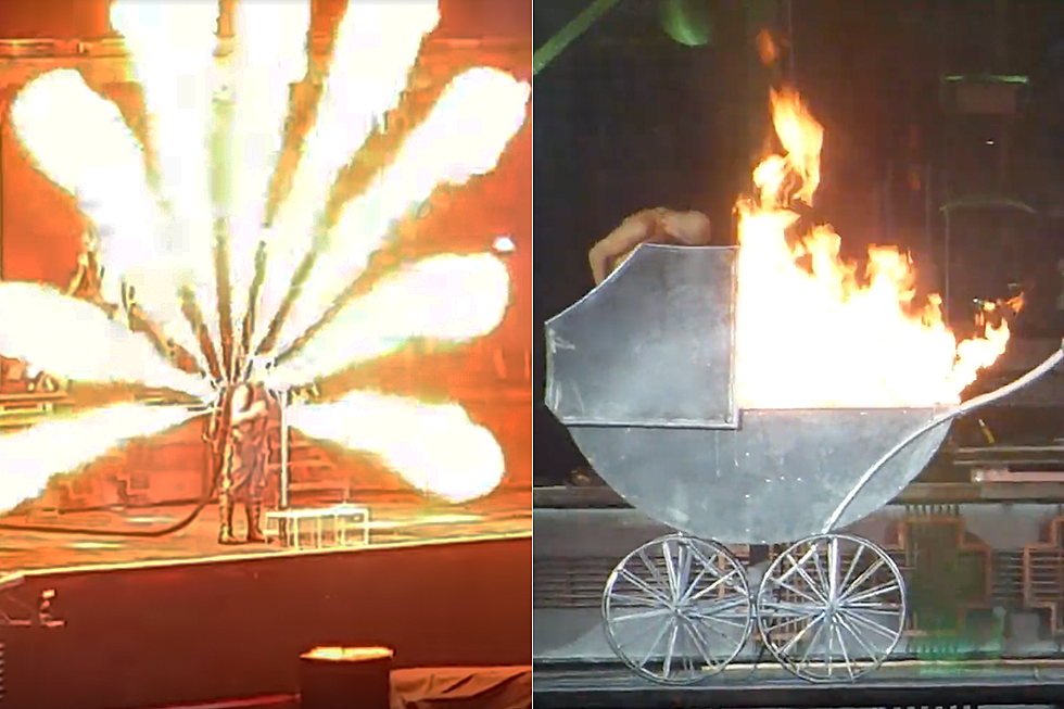 Rammstein Kick Off 2019 World Tour With Crazy New Pyro Stunts