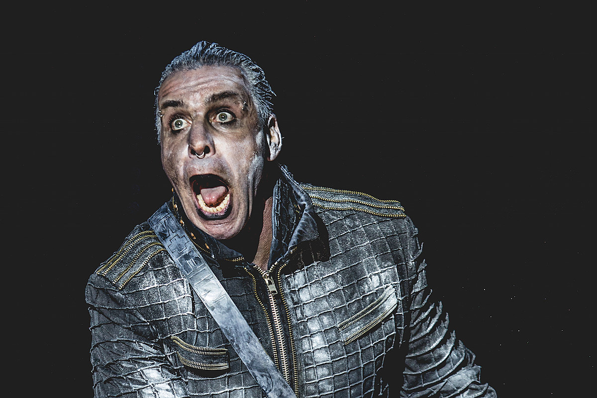 A Rammstein Blimp Was Spotted Flying Over Los Angeles