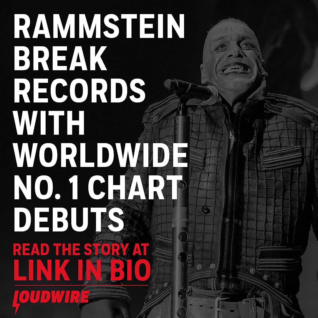 Rammstein Break Records as New Album Hits No  1 in 14 Countries