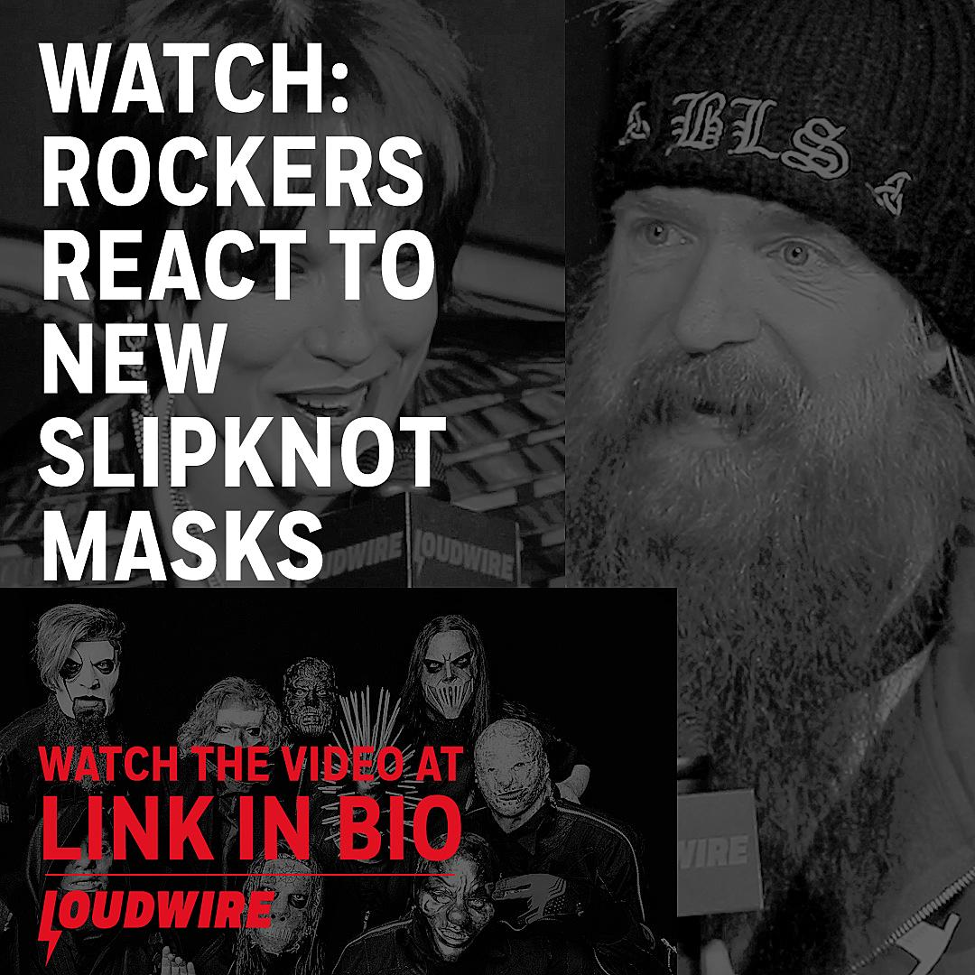 Rockers React to Slipknot's New Masks
