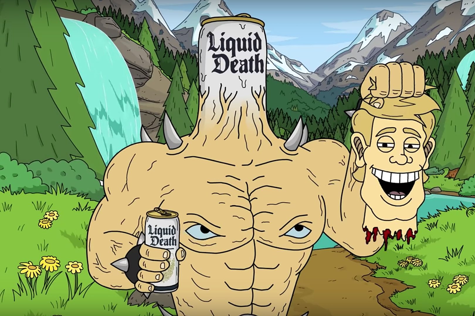 Liquid Death's 'Punk Rock' Water in a Can Raises $2 25 Million