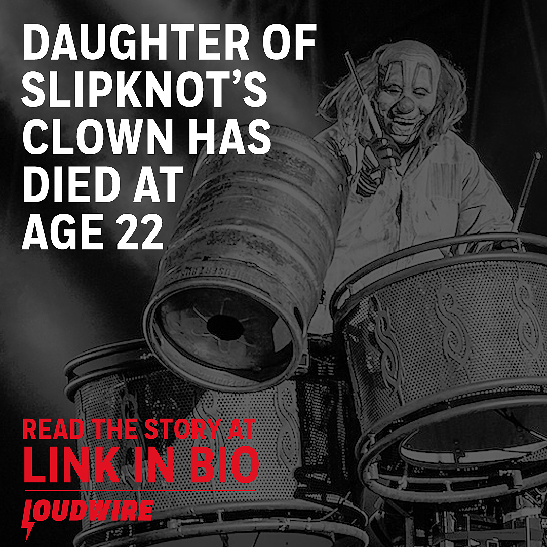 R I P  Gabrielle Crahan, Daughter of Slipknot's Shawn Crahan