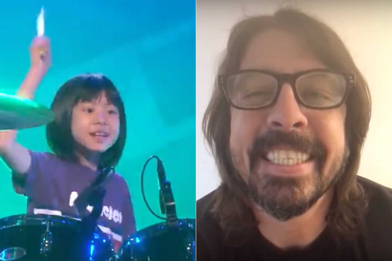 Dave Grohl Drums Unplugged