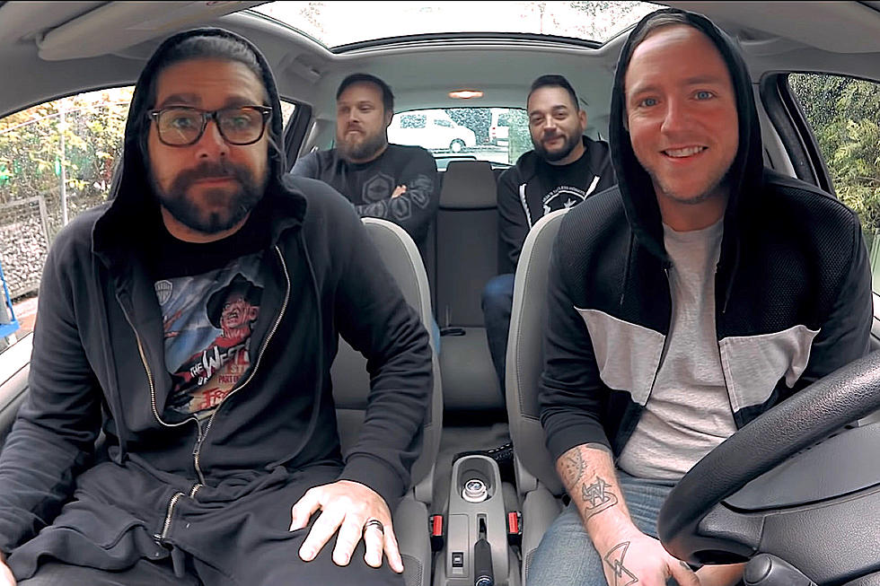 Watch Coheed And Cambria Sing A Cappella Inside A Car