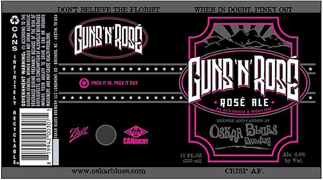 Guns N' Roses Sue Brewery for Guns 'N' Rosé Beer
